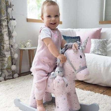 Celeste Amp Fae Rocking Unicorn Personalised Rocking Horse
