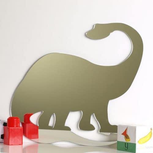 Dinosaur Brontosaurus Mirror 45cm