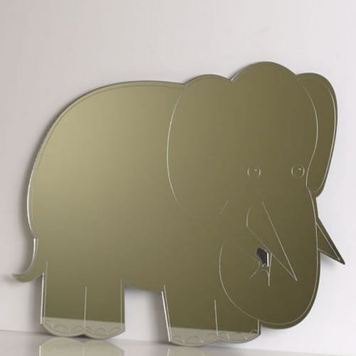 Jungle Elephant Mirror 45cm
