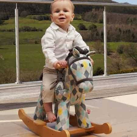 Lewis and Fitz Rocking Horse