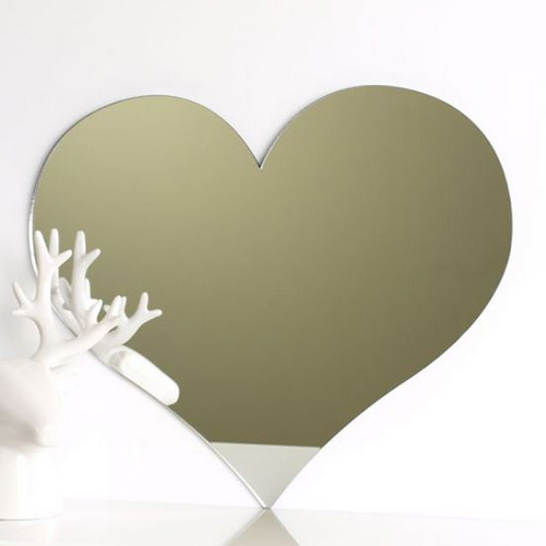 Love Heart Mirror 45cm