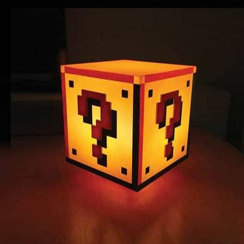 Mario Bros Question Block Light