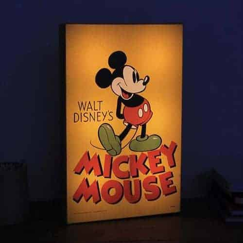 Mickey Mouse Luminart