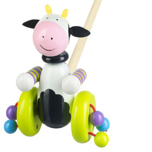 Push Along Cow