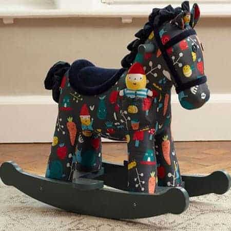 Rocket and Bud Rocking Horse