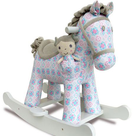 Rosie and Mae Rocking Horse