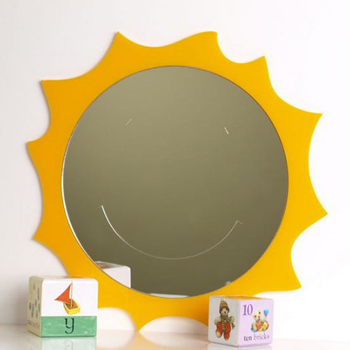 Smiley Sun Mirror 45cm