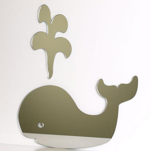 Whale and Flume Mirror 45cm