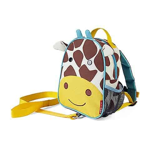 Safety Harness Mini Backpack Giraffe