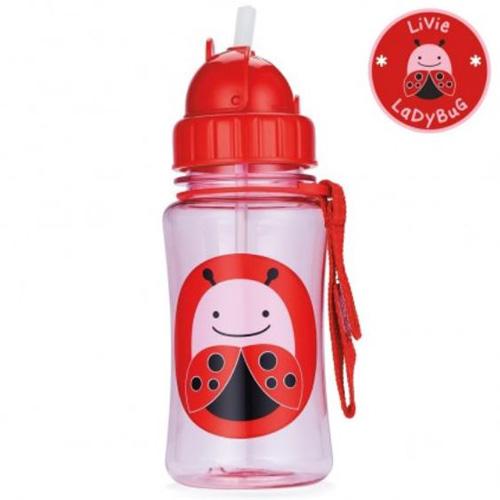Skip Hop Straw Bottle Ladybug