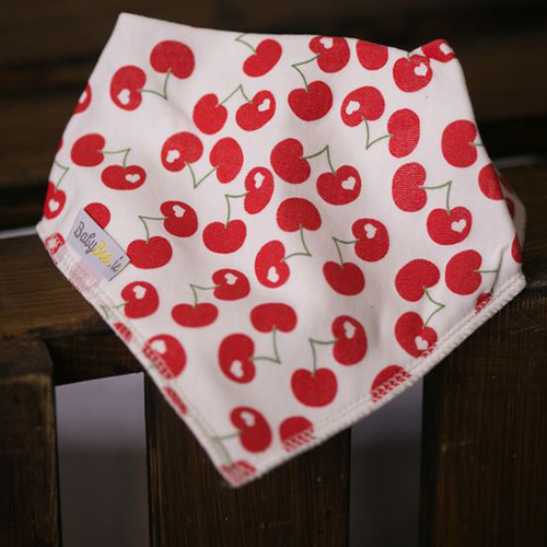 Babyboo Bib Red Cherries
