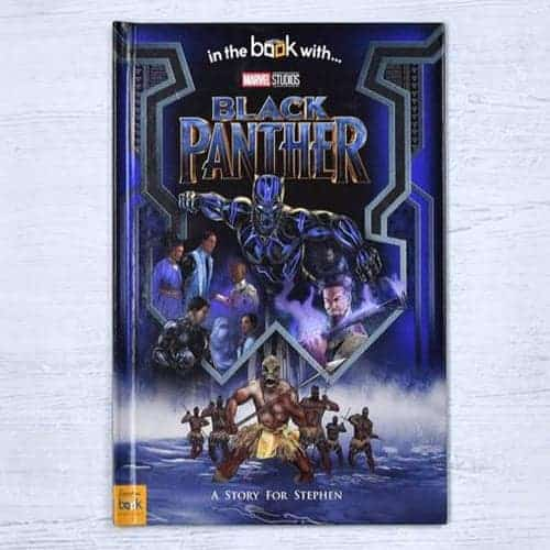 Black Panther Personalised Book
