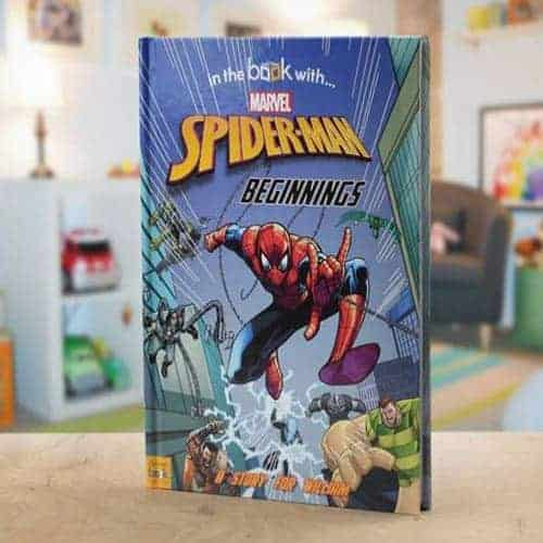 Spiderman Beginnings Personalised Book