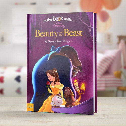Beauty & The Beast Personalised Book