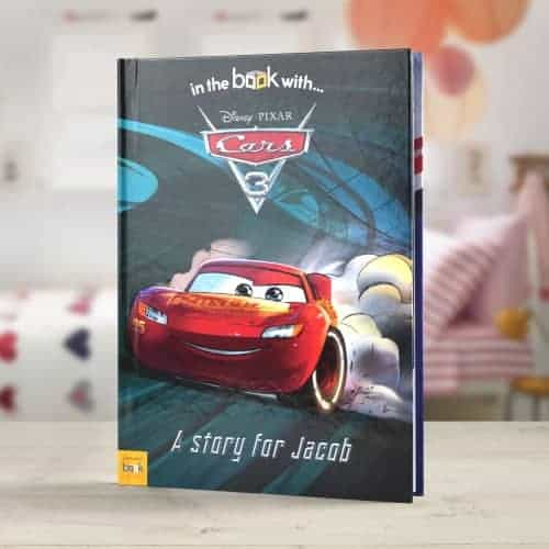 Cars 3 Personalised Book