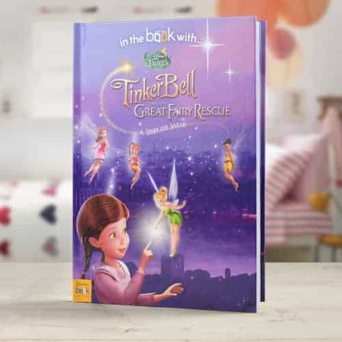 TinkerBell And The Great Fairy Rescue Personalised Book