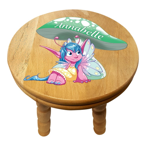 Personalised Children's Pixie Wooden Stool