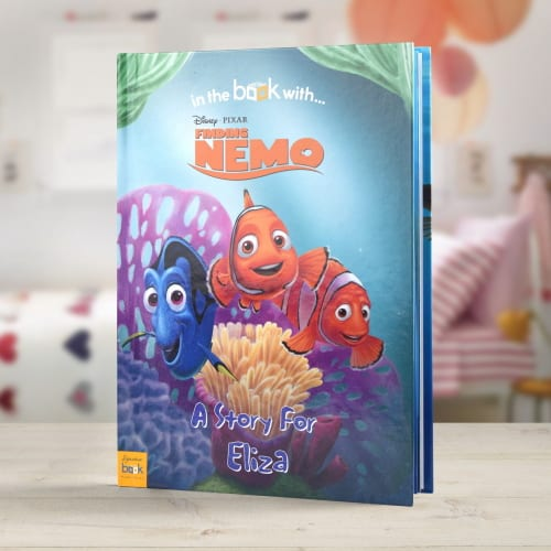 Disney finding nemo personalised book kidiko personalised disney finding nemo personalised book negle Image collections