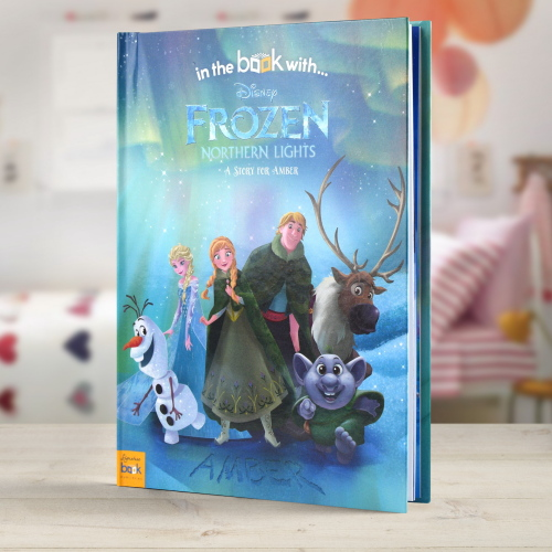 Disney Frozen Northern Lights Personalised Book