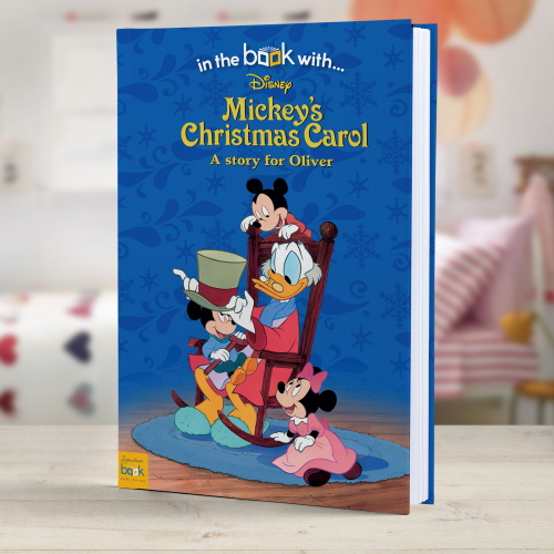 Disney Mickey's Christmas Carol Personalised Book