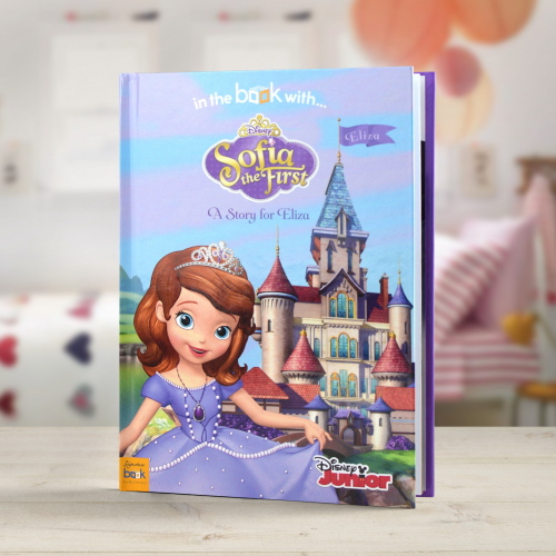 Disney Sofia The First Personalised Book