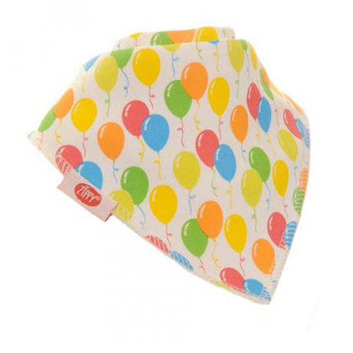 Zippy Birthday Balloon Bandana Bib
