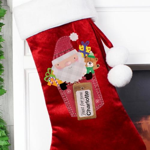 Personalised Christmas Stocking Christmas Stocking Ireland Kidiko