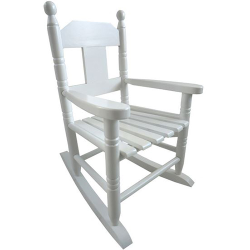 Childs White Rocking Chair