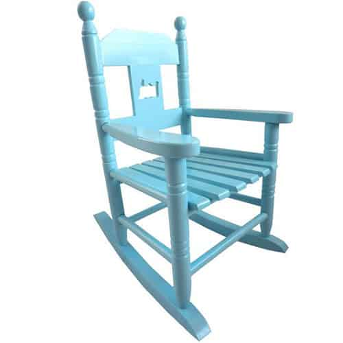 Childs Blue Rocking Chair