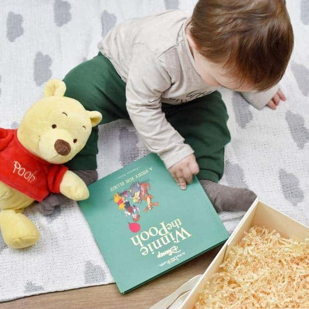 Winnie the Pooh Personalised Book and Plush Giftset