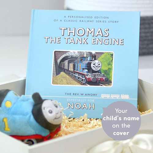 Thomas The Tank Personalised Book and Plush Giftset
