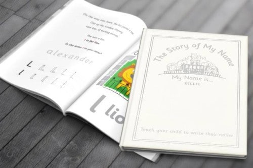 Personalised My Name Is... Book