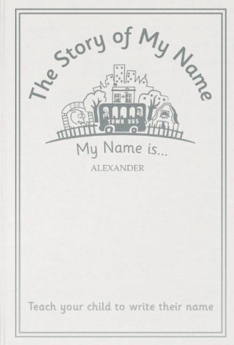 Personalised The Story of My Name Embossed Classic Hardback