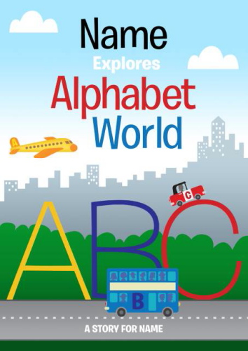 Personalised Alphabet World Book