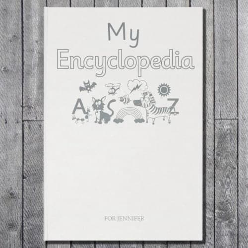 Personalised My Encyclopedia Embossed Classic Hardcover