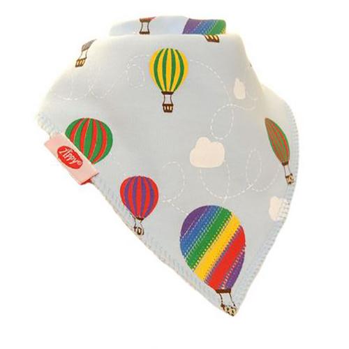 Hot Air Balloons Bandana Bib