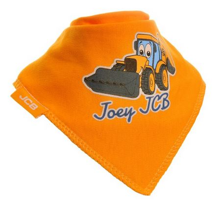 Joey JCB Bandana Bib