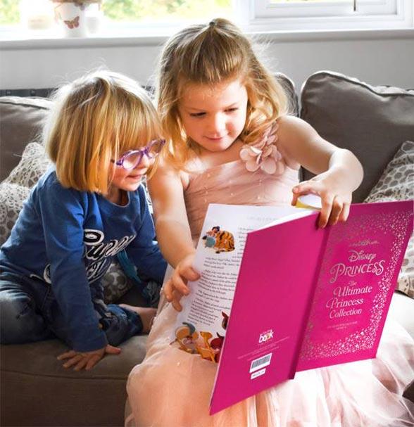 Girls Book Read Children