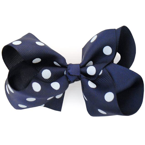 Boutique Navy Polka Dot - MediumB