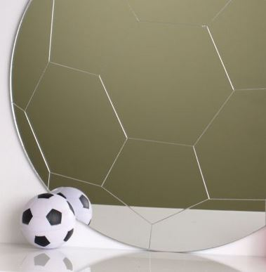 Football Mirror 45cm