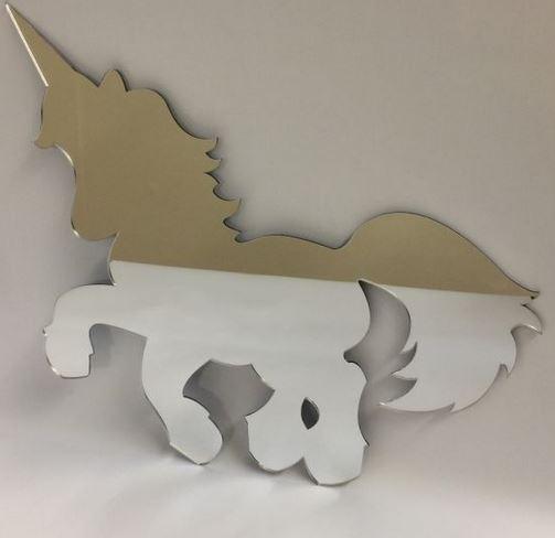 Unicorn Mirror 45cm