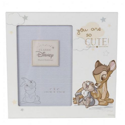 "Disney Magical Beginnings Frame - Bambi 4"" x 6"""