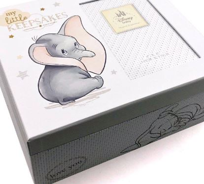 Disney Magical Beginnings Keepsake Photo Box - Dumbo