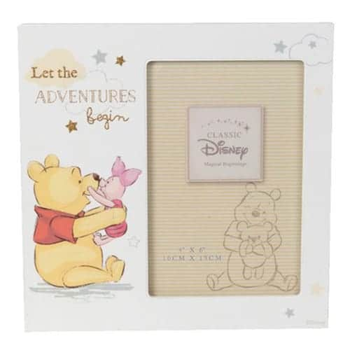"Disney Magical Beginnings Photo Frame - Pooh Adventure 4"" x 6"""