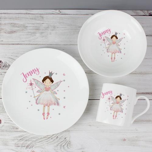 Personalised Fairy Princess Breakfast Set