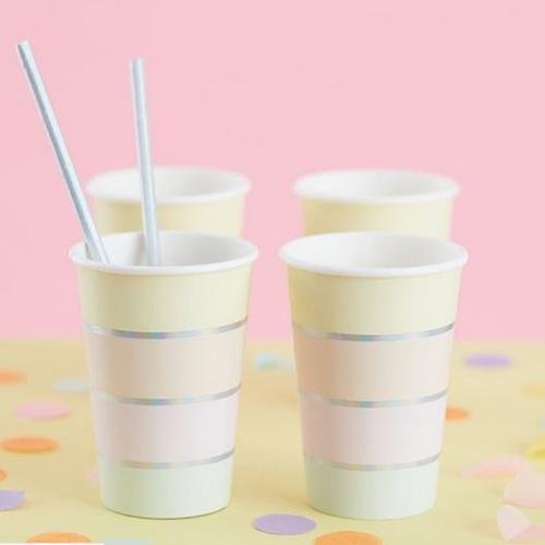 Pastel Paper Party Cups - Pastel Party