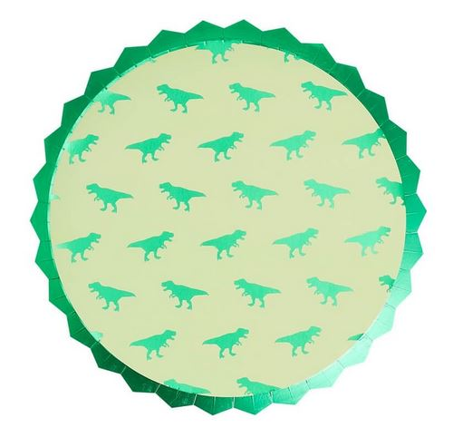 Dinosaur Paper Party Plates - Roarsome