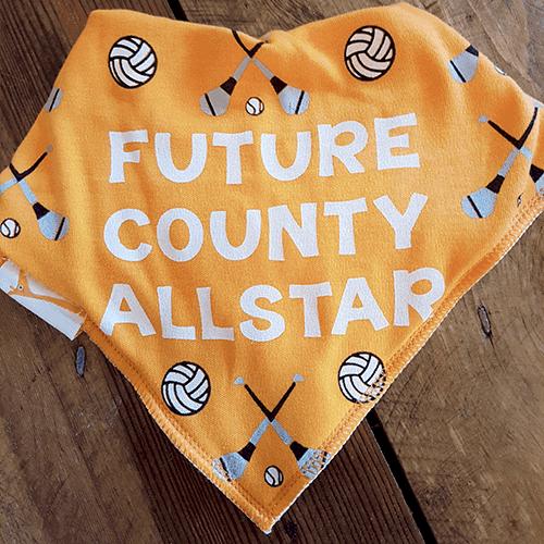 GAA Future County Allstar Amber Bandana Bib
