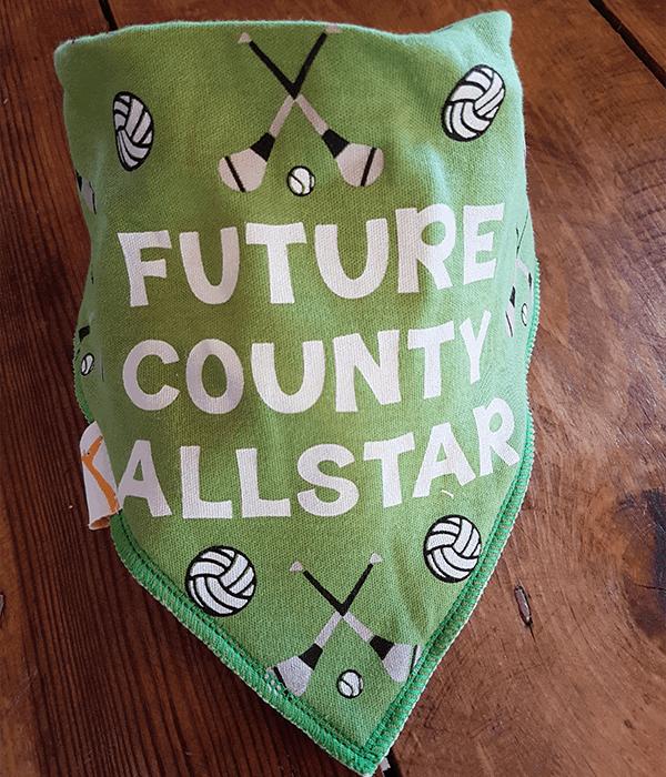 GAA Future County Allstar Green Bandana Bib