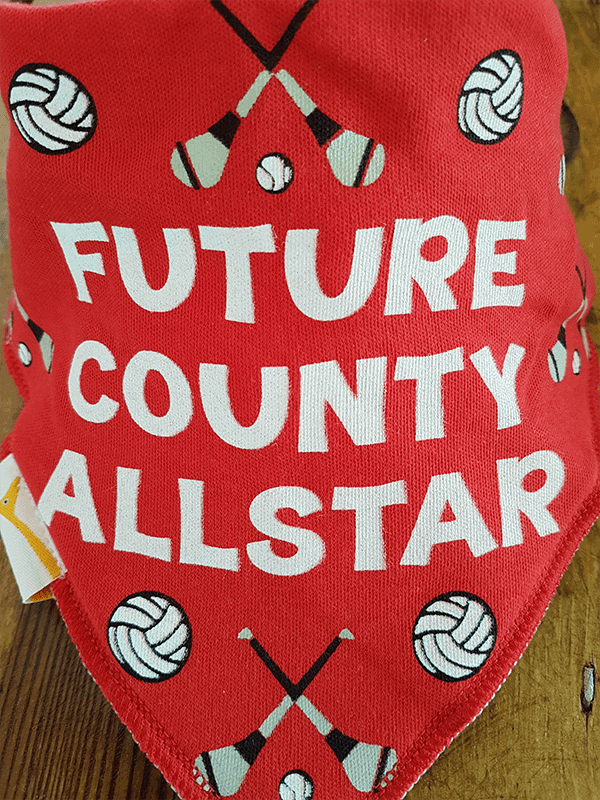 GAA Future County Allstar Red Bandana Bib